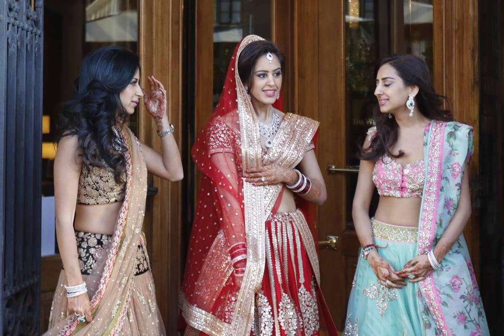 Vestiti Matrimonio Toscana : Nozze indiane a firenze il giorno del «sì e tre giorni